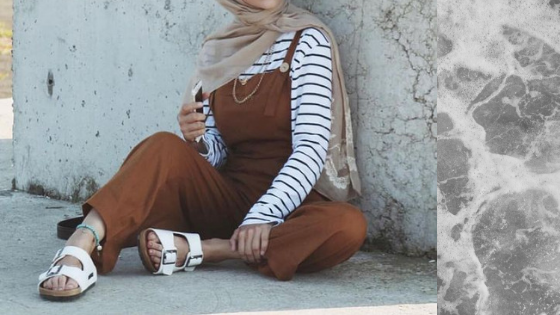 Ways to style sleeveless outfits as a hijabi