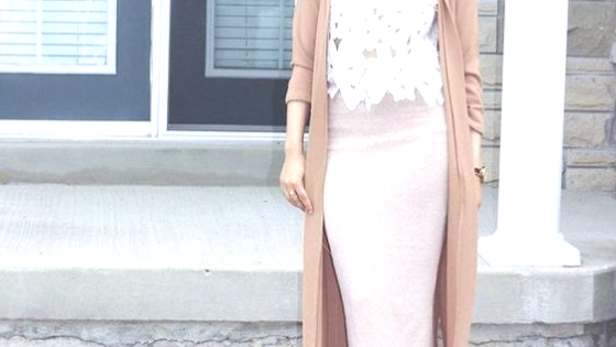 How to style straight skirt as a hijabi