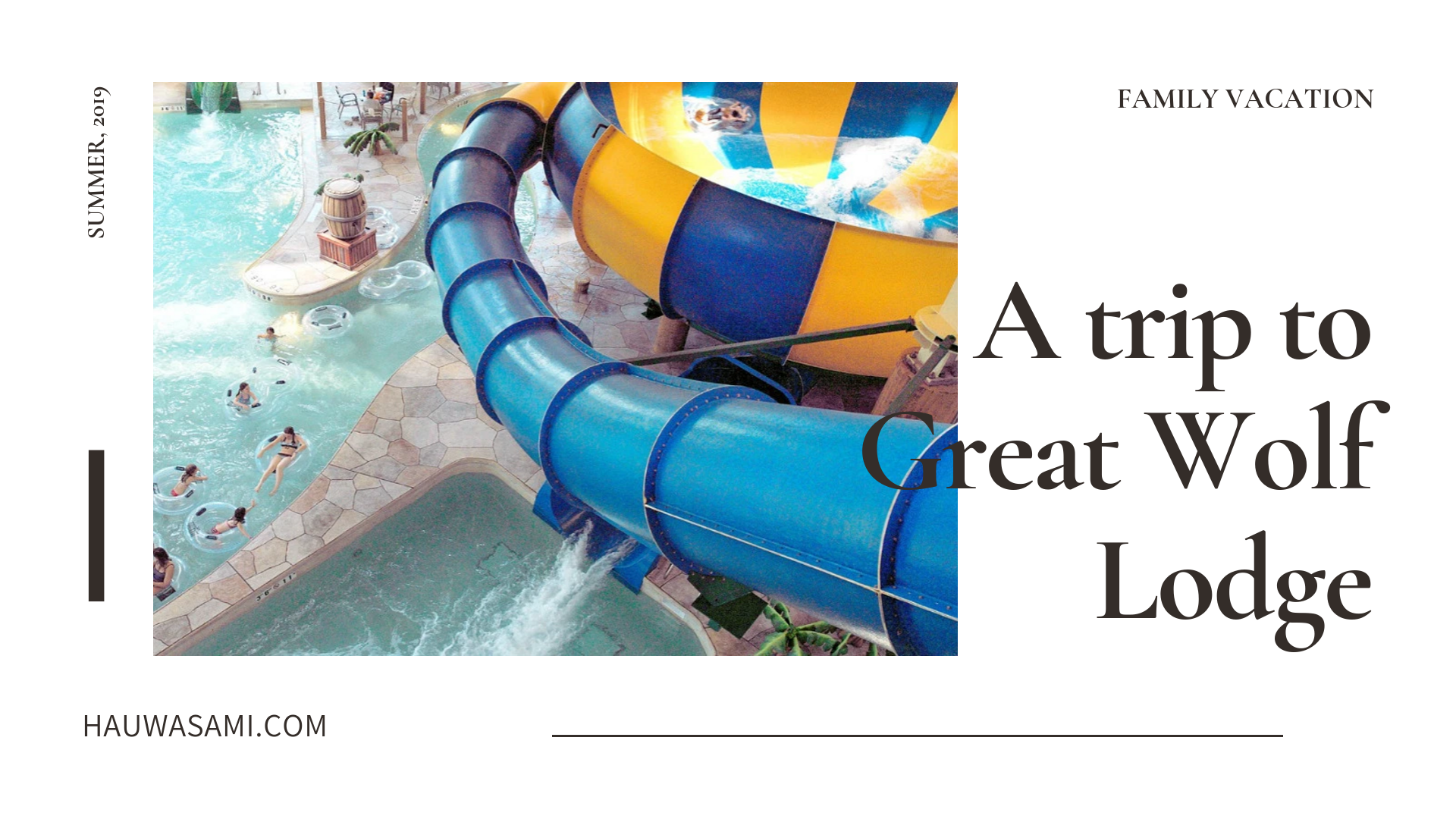 GREAT WOLF LODGE REVIEW | FAMILY VACATION