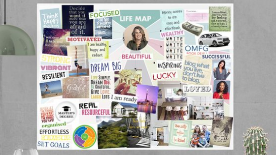 How to design a vision board?