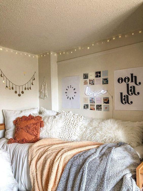 VSCO Bedroom Ideas - How to create a VSCO bedroom, Items ...